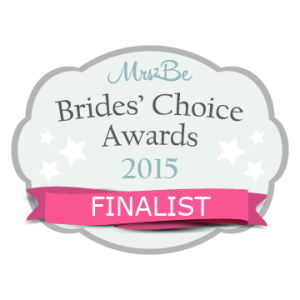Brides choice awards 2015!
